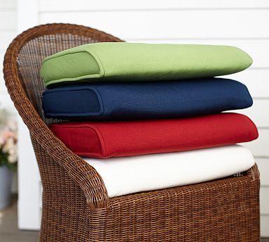 Palmetto Outdoor Furniture Cushion Slipcovers Potterybarn