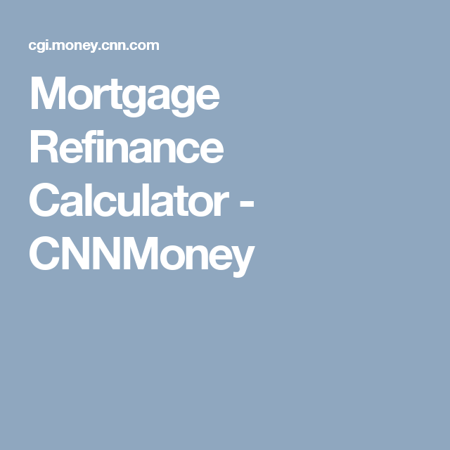 refinance calculations