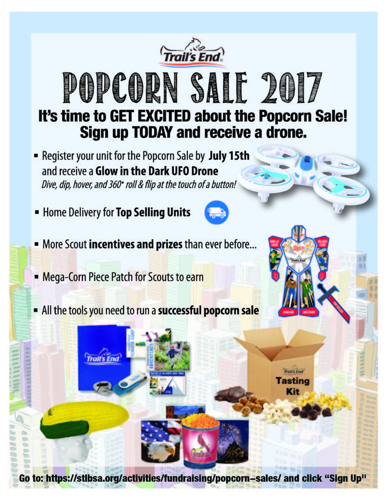 Popcorn sales can generate enough income to financially support ...