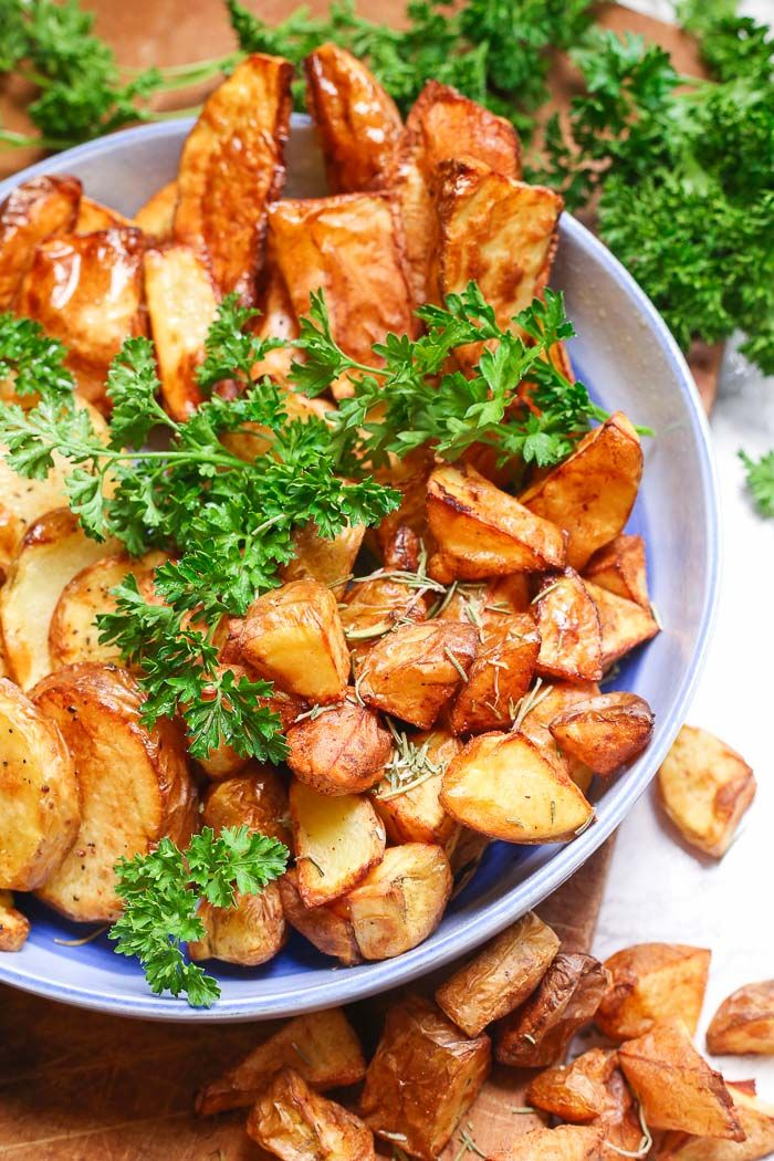 Air Fryer Potatoes Gluten Free, Paleo, and Whole30