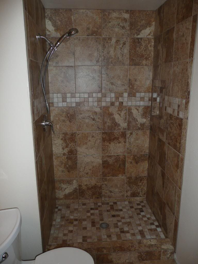 ceramic showers | Ceramic Tile Shower 1 Photo by idealcarpentryllc ...