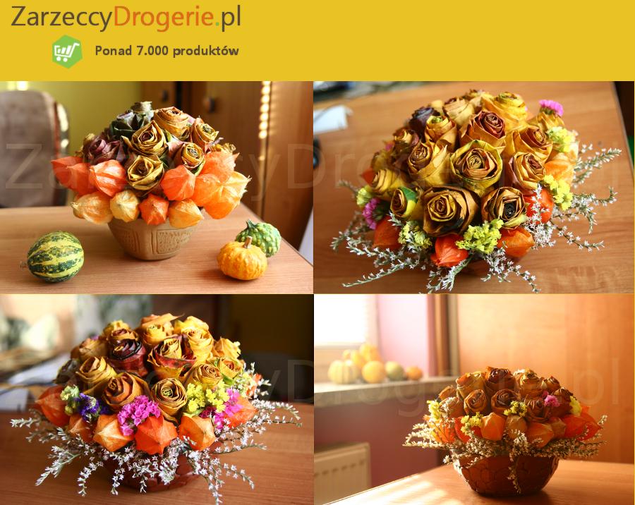 Bukiety Jesienne Z Lisci Handmade Crafts