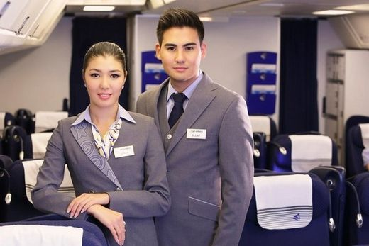 Air Astana Suit Jacket Cabin Crew Jackets