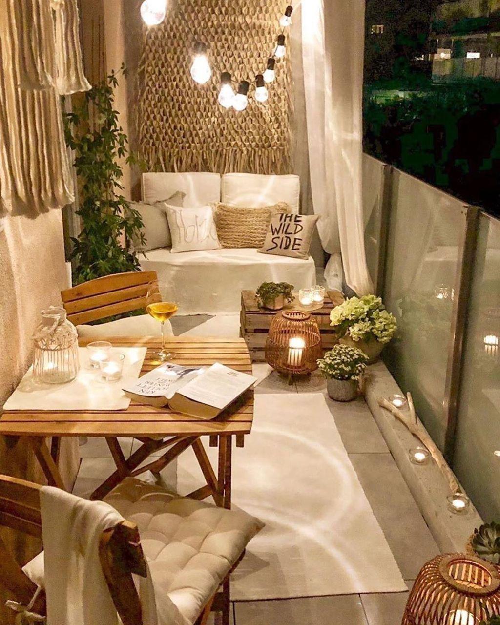 44 Atemberaubende Winterbalkon Dekorationsideen – #Balkon #dekorieren #Ideen #Stunn …