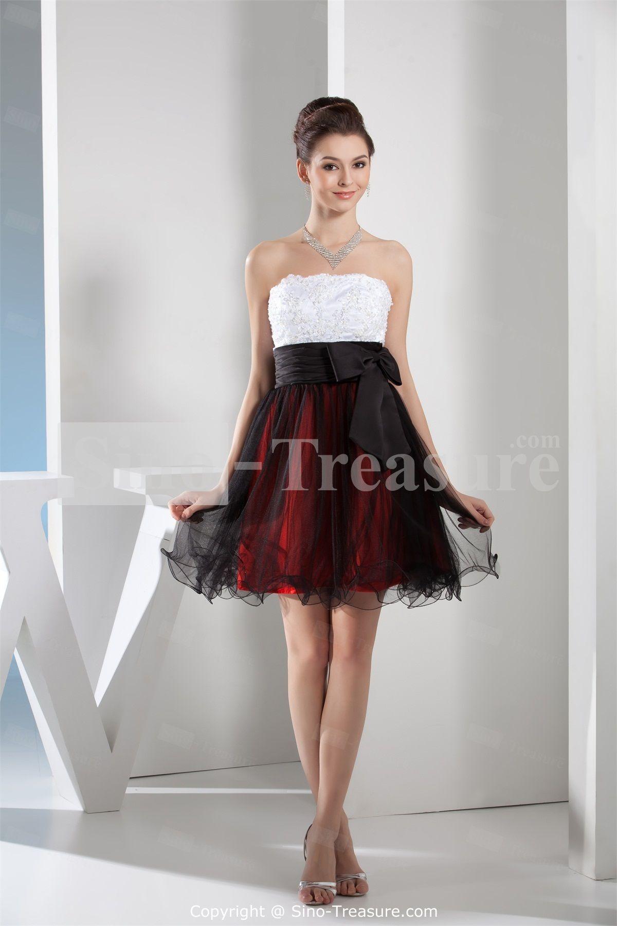 Cheap plus size short black dresses