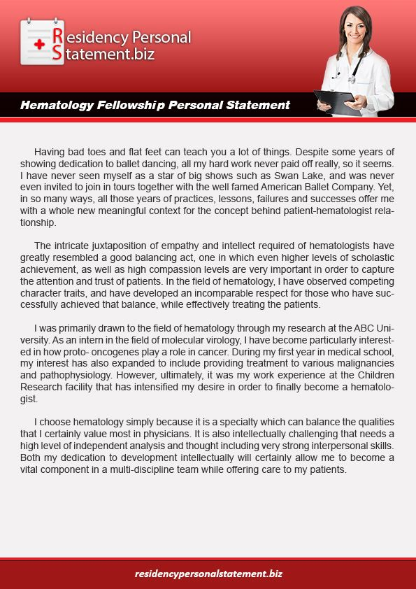 Are You Thinking For The Best Service Hematology Fellowship Personal Statement Website Http Www Residencyper Person Writing Services Oncology Pediatric