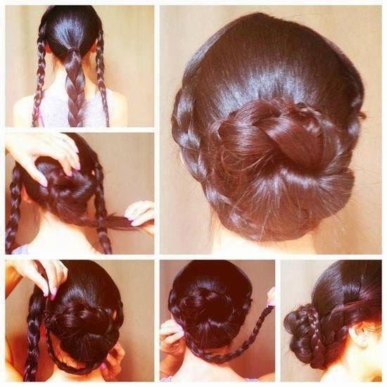 Peinados recogidos gorditas