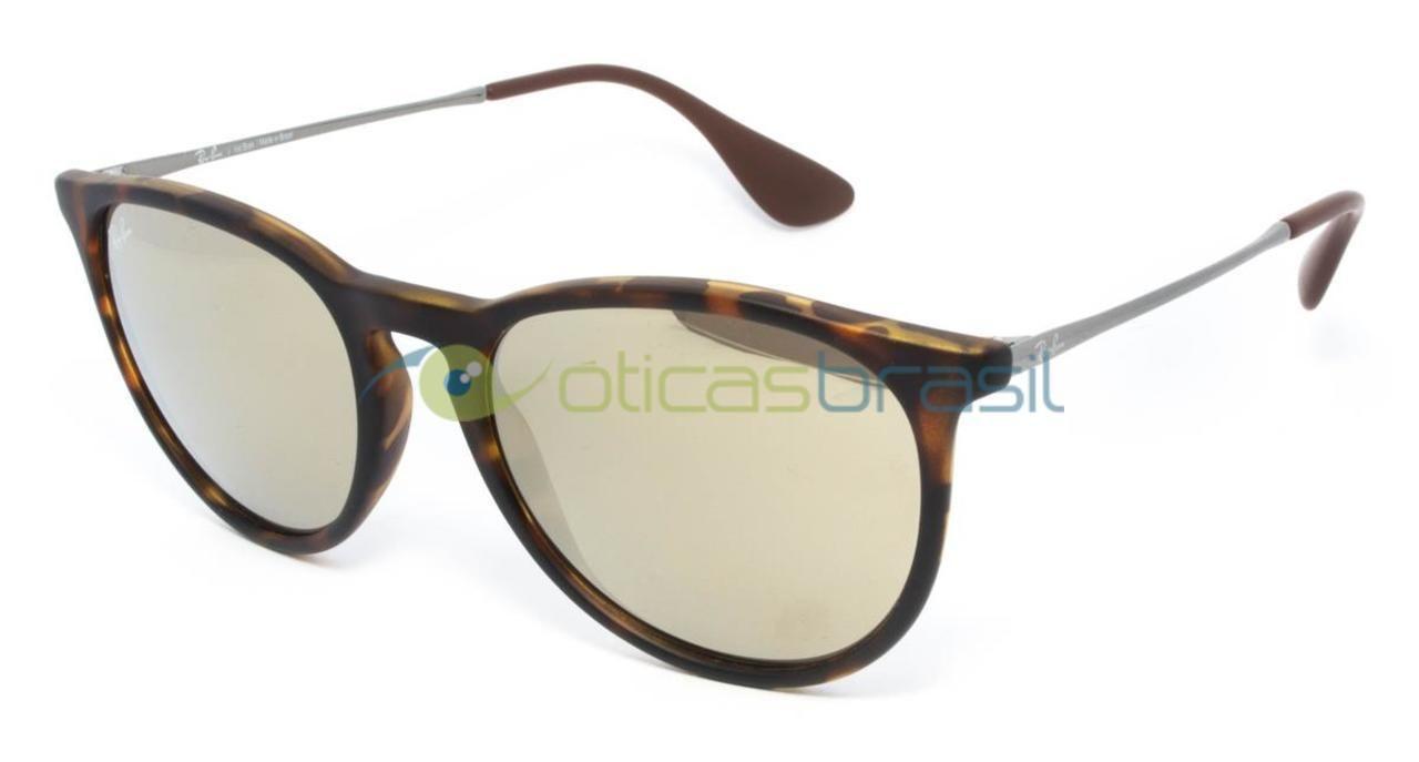 Ray-Ban RB 4171L Erika é um modelo super charmoso de óculos de sol de estilo retro. Possui uma qualidade incrível que deixa qualquer pessoa com um look incrível e super sofisticado, sem dúvidas você irá arrasar por onde passar. Além disso, combina com diferentes formatos de rosto, e é um super acessório para o dia a dia! As lentes protegem de todos os raios UVA, UVB e UVC emitidos pelo sol.   http://www.oticasbrasil.com.br/rayban-erika-rb-4171l-oculos-de-sol