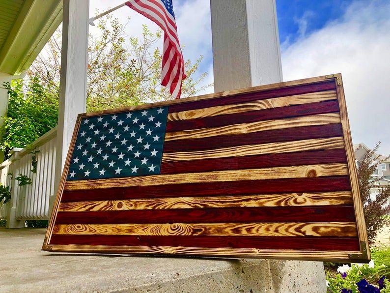 Pin By Enniswendy On Random In 2020 Wooden Flag American Flag Pallet American Flag Wood