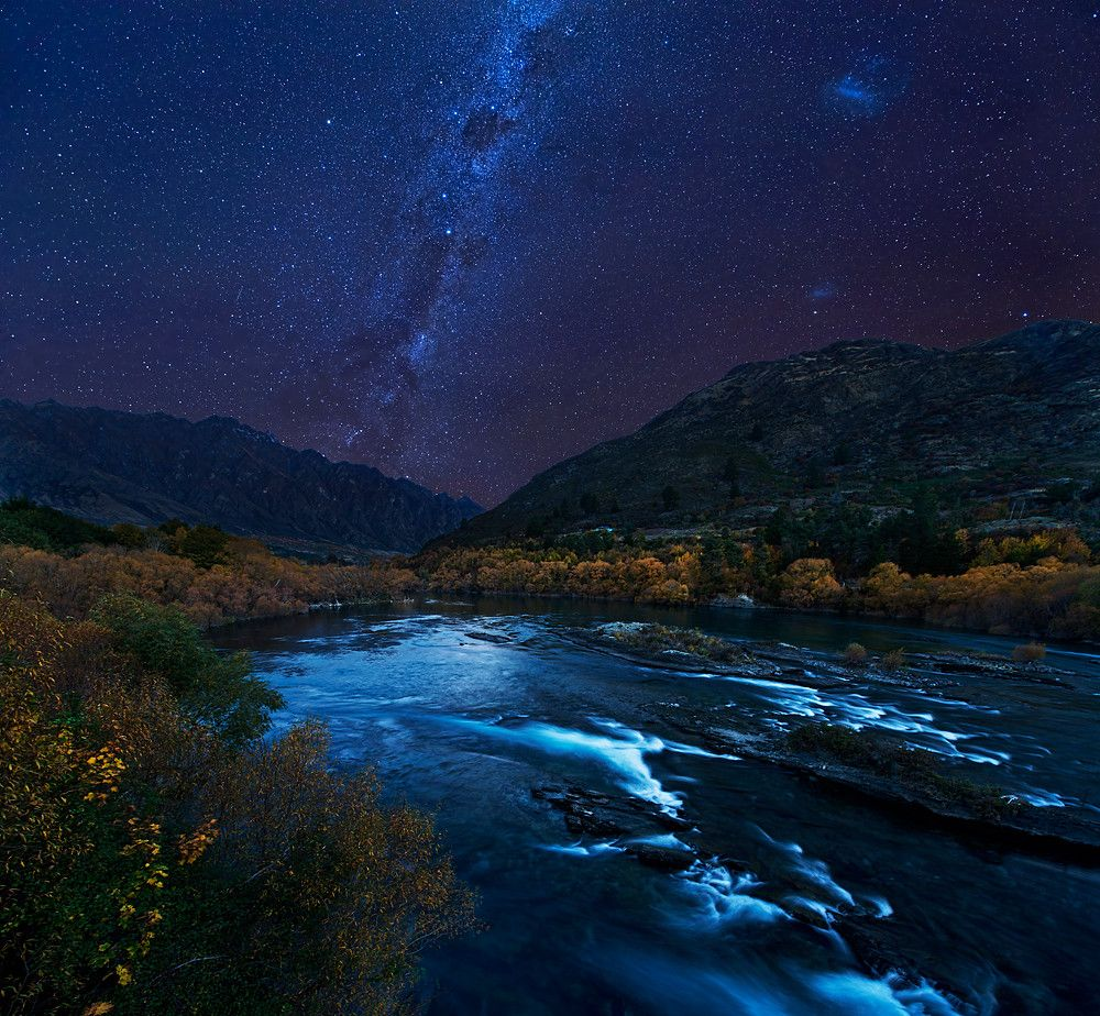Photograph Autumn Night by Yan Zhang on 500px