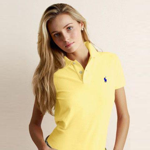 6b2b4a999e18e Polo Ralph Lauren vous fera paraître élégant Polo coupe classique poney  jaune