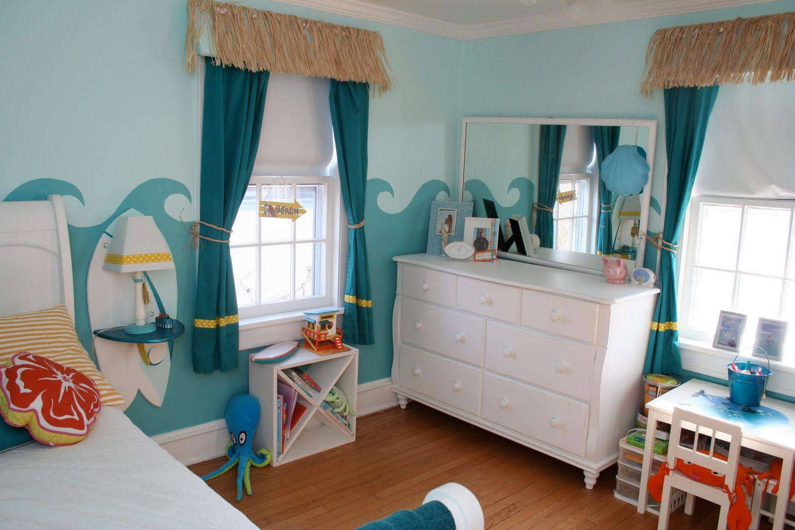 Bedroom Teen Sea Themed Room Ideas With