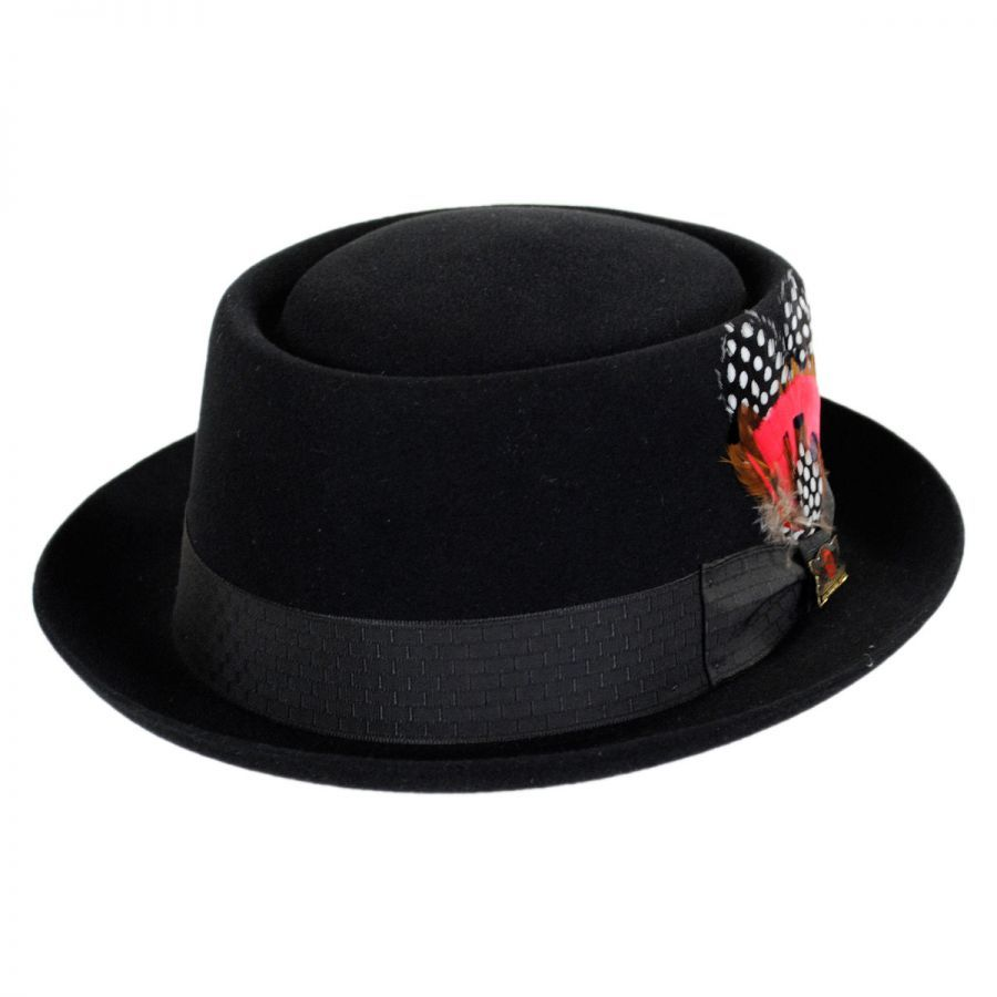 345b108a1bb Biltmore Columbus Fur Felt Pork Pie Hat