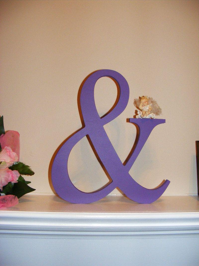 12 Wooden Ampersand Sign Photography-DIY-Wedding Decor ...