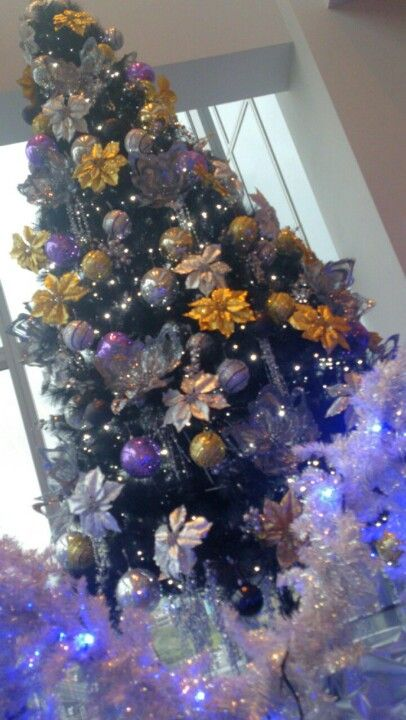 a small purple christmas tree in taipei - Small Purple Christmas Tree