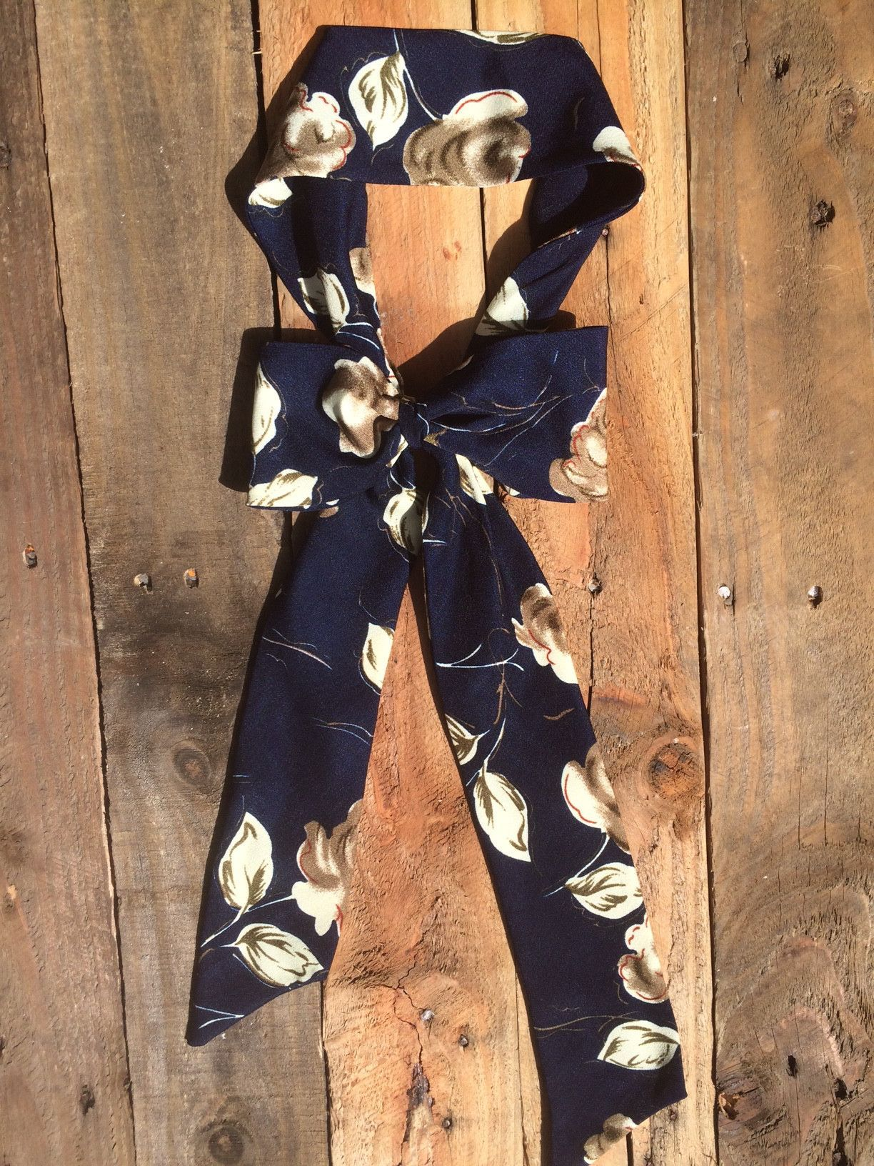 3cb0c84e4a76 navy blossom women's bow tie | Products | Women bow tie, Floral bow ...