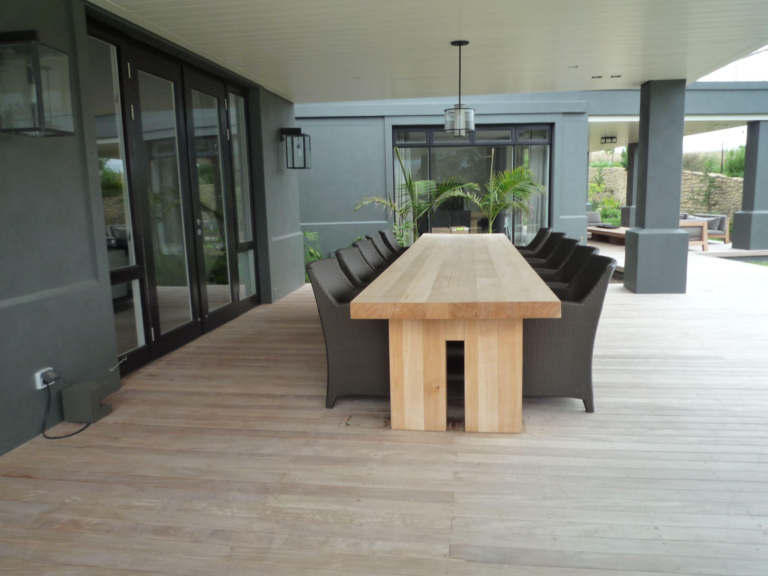 Vloeren Voor Buiten : Houten buiten tafels made by beukers vloeren interieurbouw