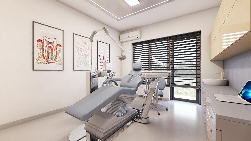 Design Interior Amenajare Spatiu Medical Cabinet Stomatologic A Mialmi Design Clinic Interior Design Dental Office Decor Dental Office Design