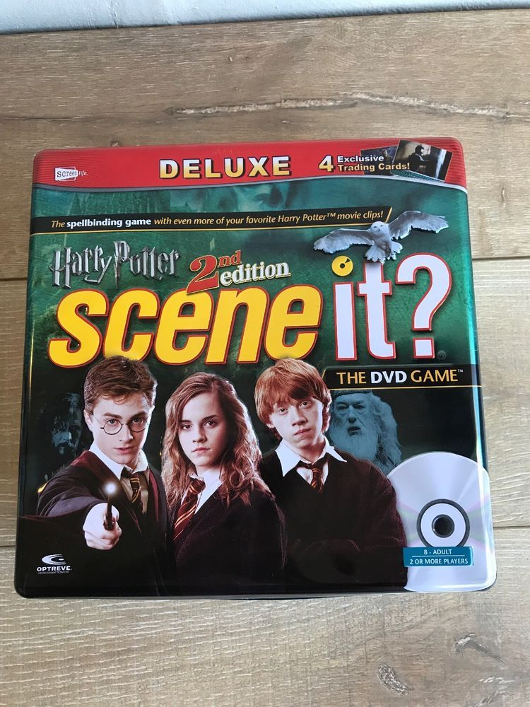 Harry potter deluxe 2nd edition scene it collectible tin