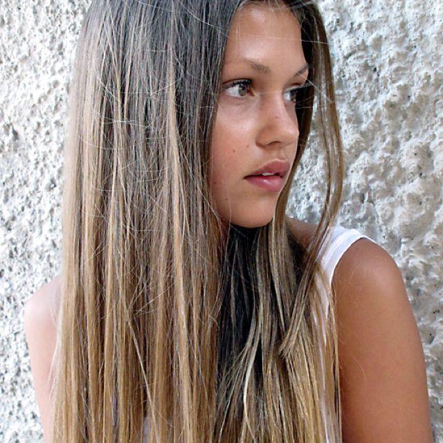 Ombré hair!<3