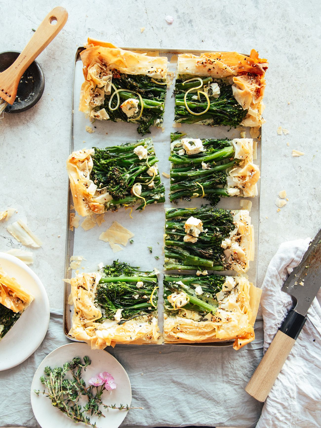 filo tart with broccoli ricotta izy hossack top with cinnamon recipe filo pastry recipes food filo pastry recipes savoury pinterest