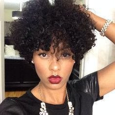 Curly Afro Hairstyles For Womens Short Natural Curly Hair