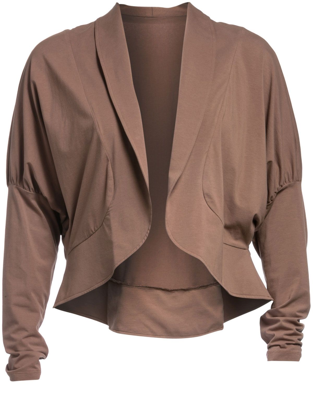 d8280995720c Short cotton jacket in Light-Brown designed by Isolde Roth to find in Category  Coats & Jackets at navabi.de