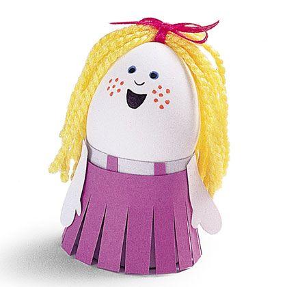 Como Hacer Un Huevo Decorado Como Bebé Imagui Huevos De