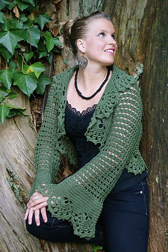 Berenguela Shrug - free pattern | Crochet~ Tops | Pinterest ...