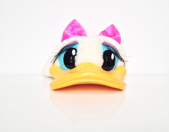 ac91e0a13ae Vintage Disney Daisy Duck Hat on Etsy