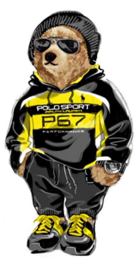 70e2e3409 2016 Polo Sport Bear Ralph Lauren Logo