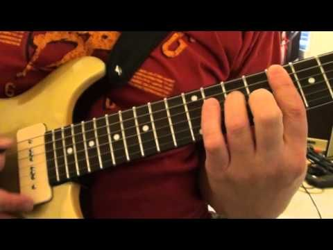 Keith richards riff brown sugar lesson youtube | songs.