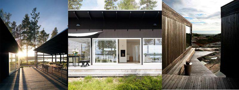 Modern Scandinavian Homes kontio glasshouse | summer house 2016 | pinterest | cabin and house