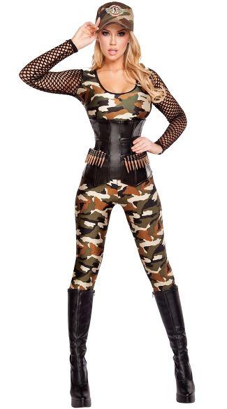 Lusty Lieutenant Costume Costumes, Sexy army costume and Army costume - halloween costume ideas for women 2016