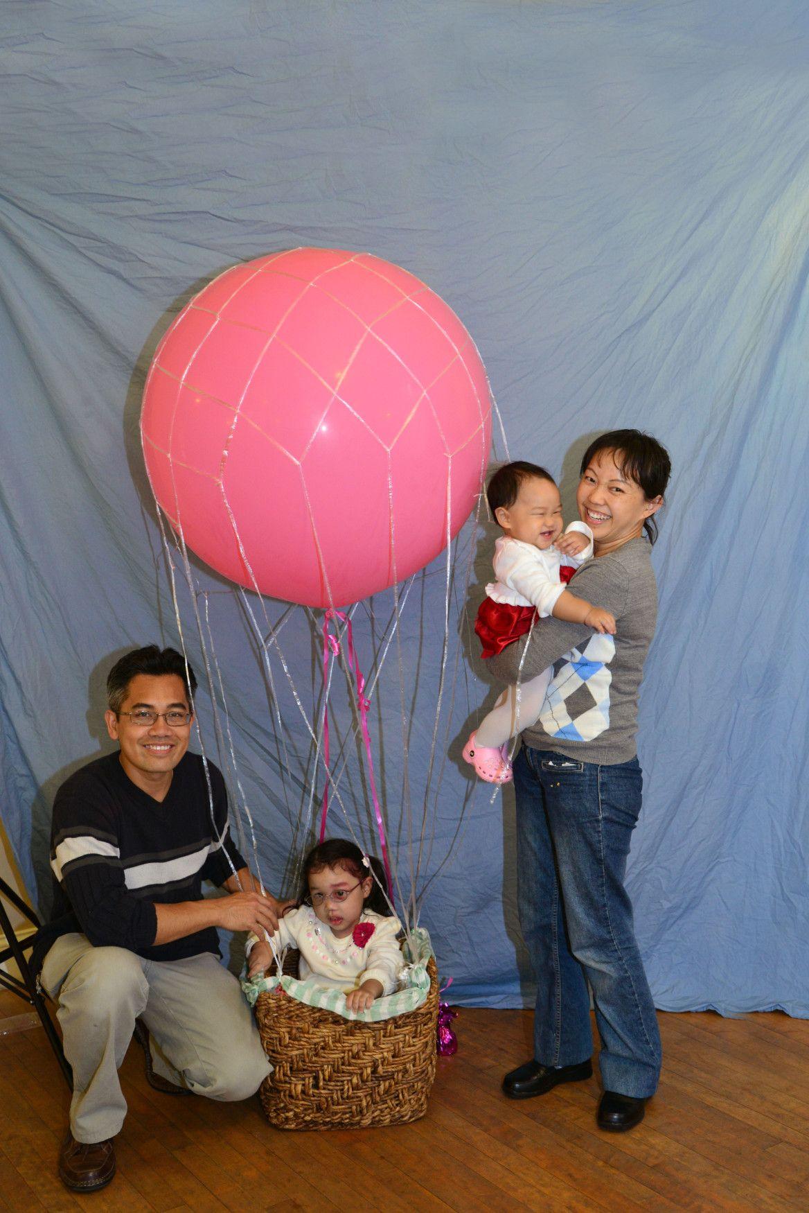 Allison's First Birthday Hot Air Balloon Party Tortas