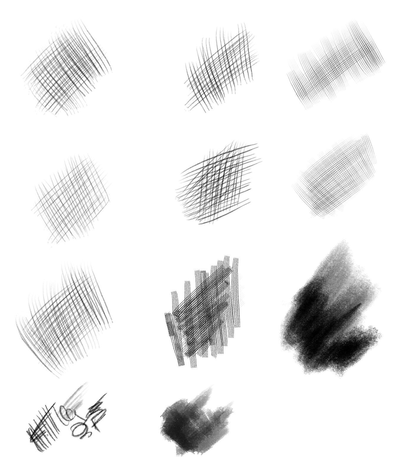15 Free Drawing & Painting Brush Sets