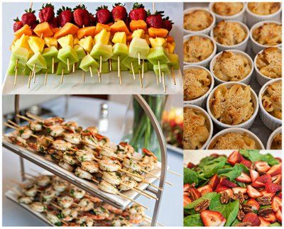 appetizers for an engagement shower Bridal Shower Appetizers