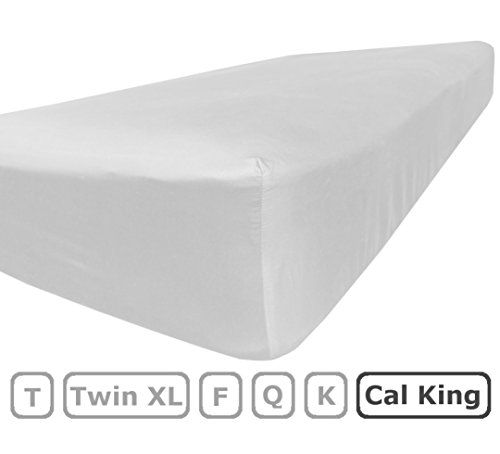 Cal King Size Fitted Sheet Only 100 Brushed Microfiber Deep