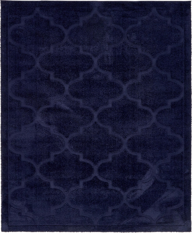Navy Blue 8 X 10 Trellis Shag Rug Area Rugs Esalerugs Rugstexture Rugs Contemporary Area Rugs Navy Carpet Living Room