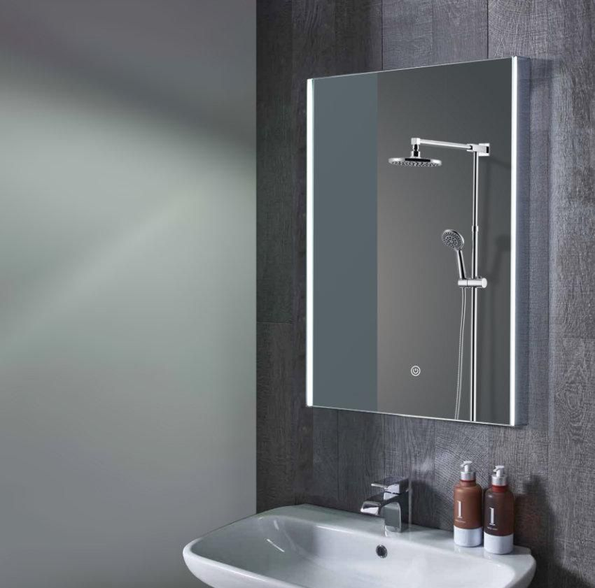 Wellington Led Wall Mounted Mirror With Bluetooth Speakers