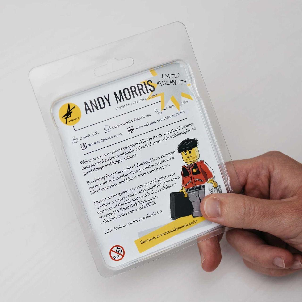 Bewerbung per LEGO-Minifigure - Plastischer Lebenslauf | Lego ...