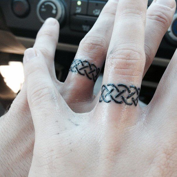 78 wedding ring tattoos done to symbolize your love wedding ring tattoos ring tattoos and. Black Bedroom Furniture Sets. Home Design Ideas