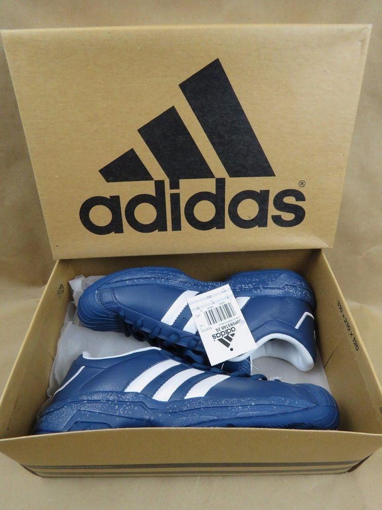 ADIDAS Superstar 2G Men s Basketball Shoes RARE BLUE 669164 NIB NEW Size  8.5  adidas f7b62ad60