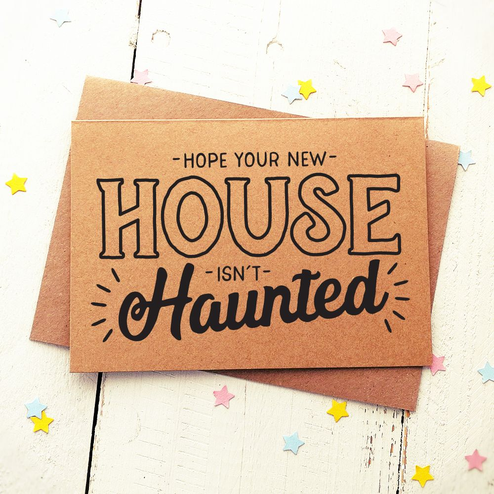 Funny Friend Card Funny New Home Card Congratulations Card