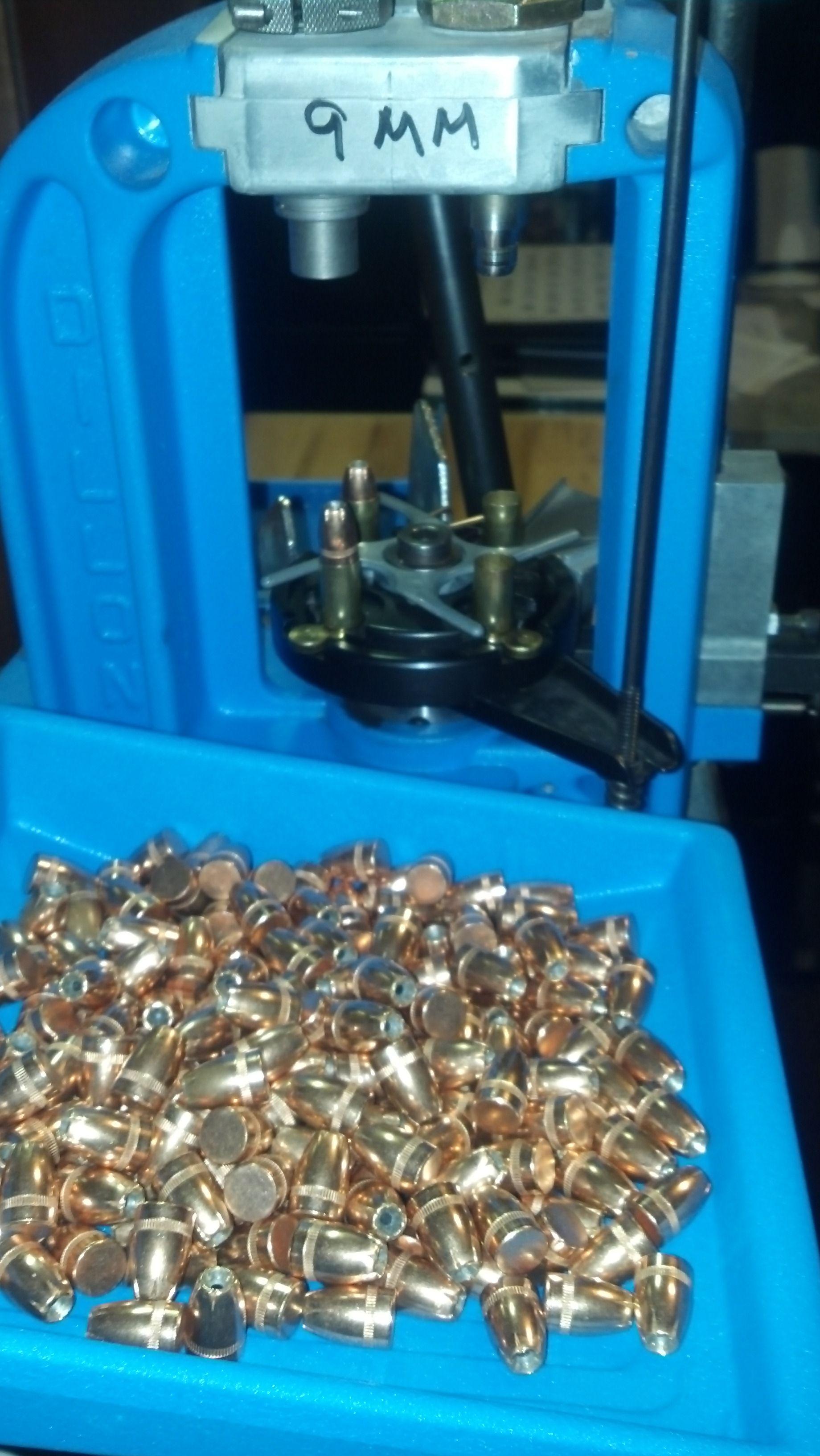 Reloading - Dillon 550 - 9mm | Reload - reloading bench | Reloading