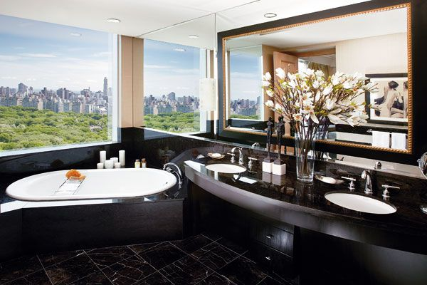 Amazing view at the Mandarin Oriental in NYC!