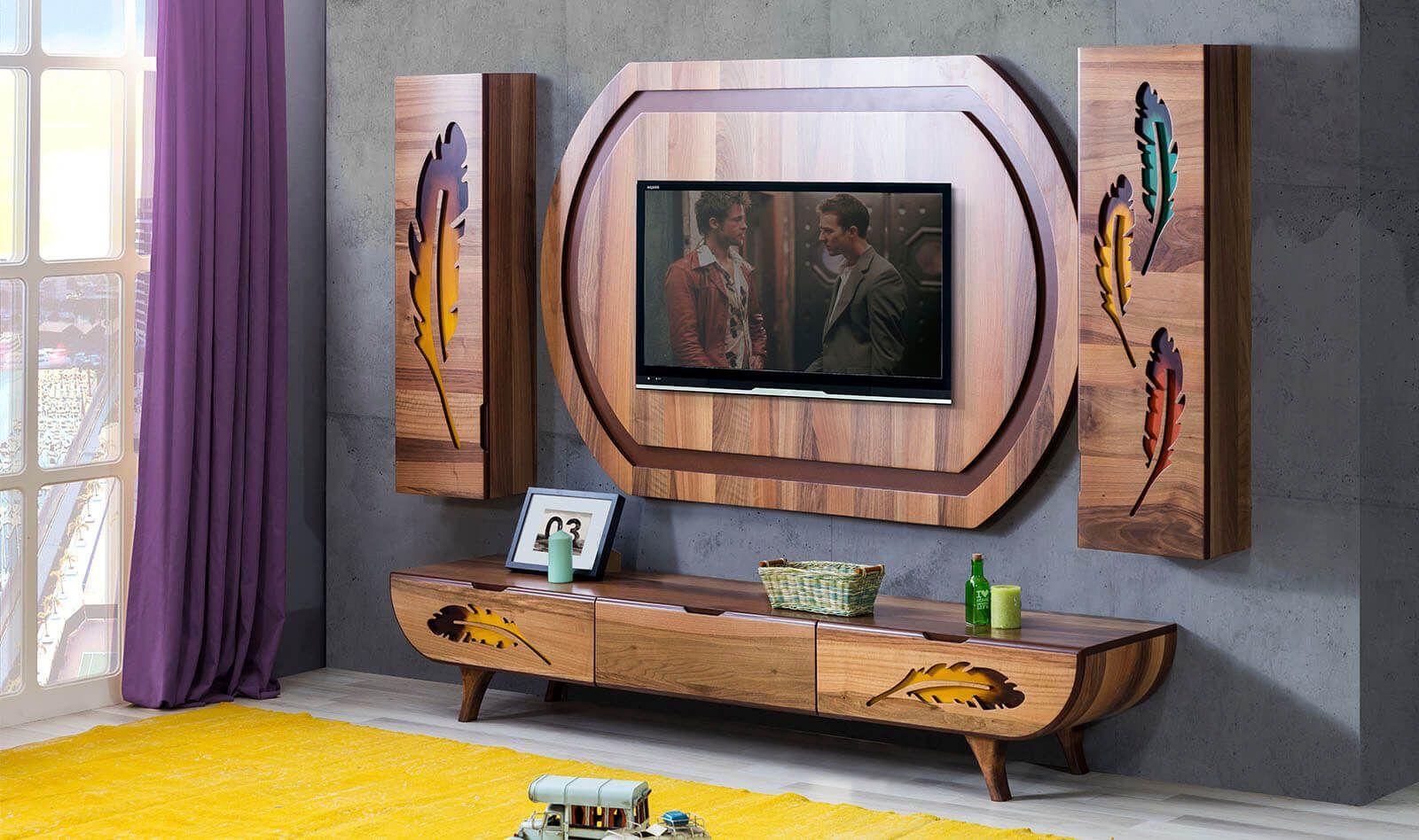 anka yaprak tv unitesi modern tv uniteleri ev ic tasarimi mobilya ic tasarim ofisler