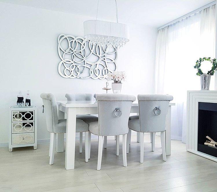 Mieszkanie W Bloku W Stylu Glamour Najpiekniejsze Wnetrza Z Instagrama Twoje Diy Home Decor Decor Dining Table