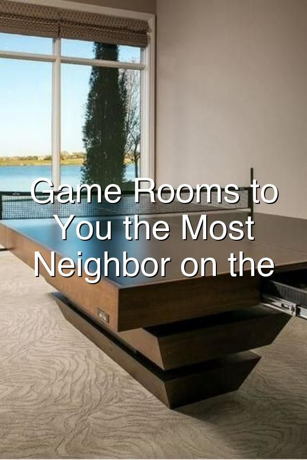 Photo of Game Rooms to Make You the Most Popular Neighbor on the Block
