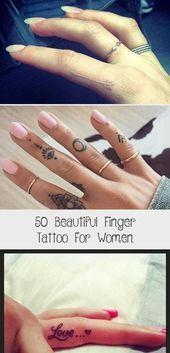 Photo of 50 Beautiful Finger Tattoo For Women – Tattoos  50 Beautiful Finger Tattoo for W…